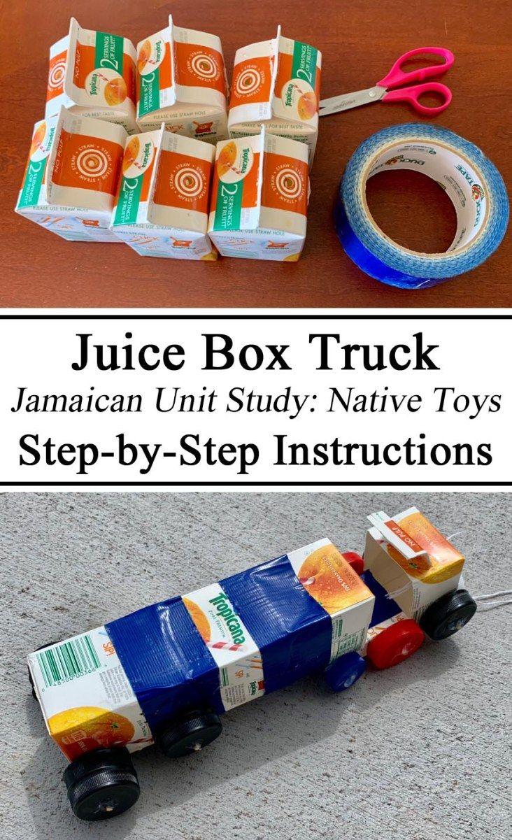 Jamaica unit study juice box truck juice boxes baby