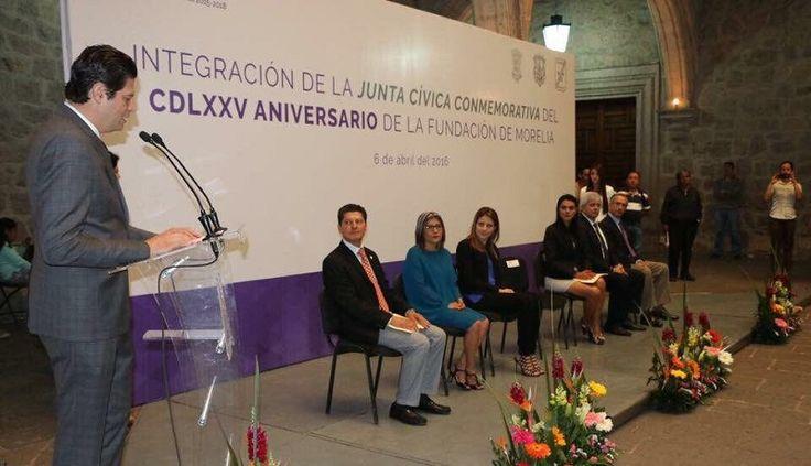 En el marco de los trabajos preparatorios del 475 Aniversario de Morelia, el Ayuntamiento y la sociedad refrendaron el compromiso y participación decidida para dar a los festejos un nuevo ...