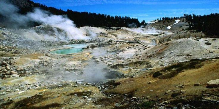 Paradisul vulcanic din Lassen Volcanic, California