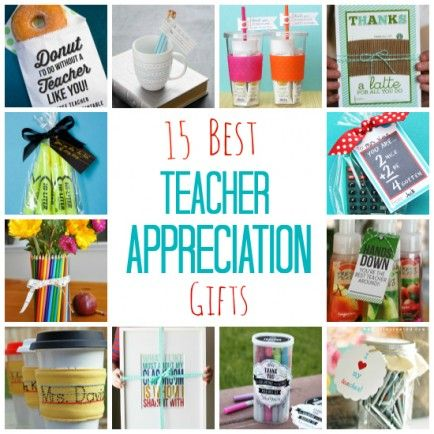 15 End of the Year Teacher Gifts