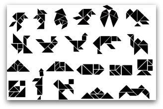 Tangram pictures, tangram, tangrams, tangram puzzles, tangram puzzles printable, printable tangram puzzles, tangram shapes, tangram activities, tangram ideas.   -Repinned by Totetude.com
