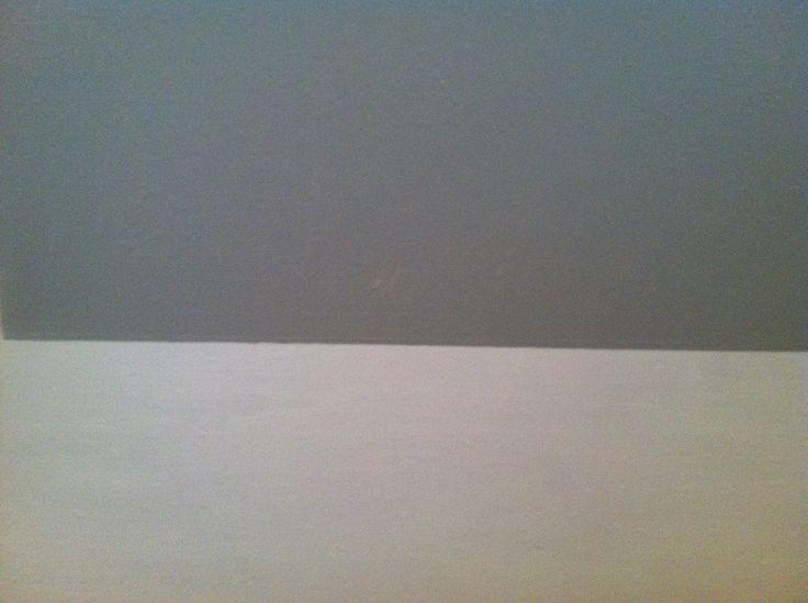 Baby Boy Nursery Ideas Glidden Pebble Grey GLN50 with white