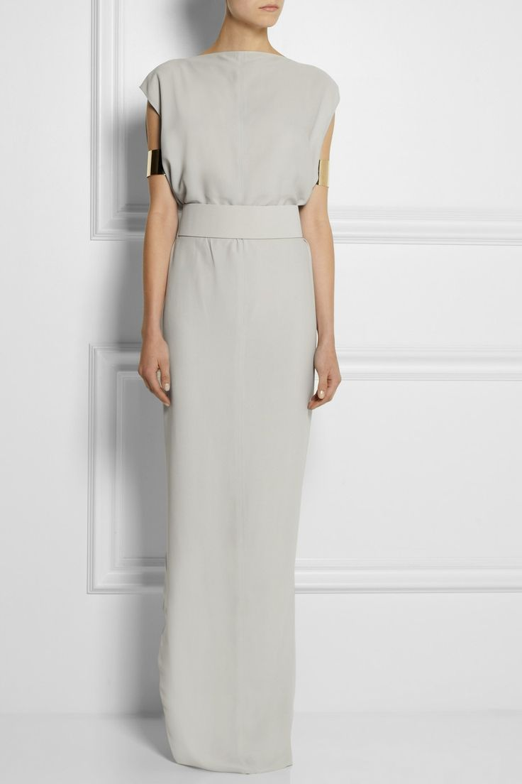 Rick Owens, Dagger Crepe Maxi Dress