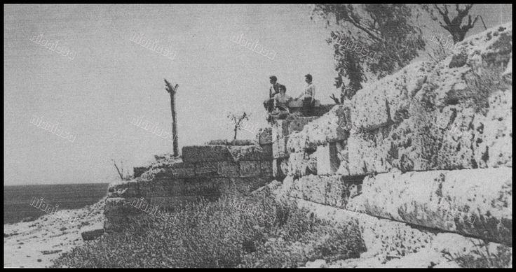 Το Κονώνειο Τείχος του Πειραιά την δεκαετία 1950.