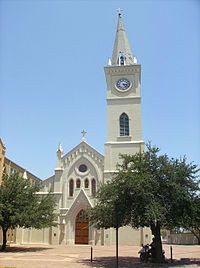 San Agustin Cathedral in Laredo, Texas.