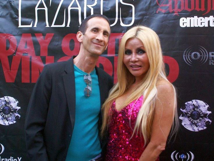 On the red carpet with actress Dawna Lee Heising at the LA premiere of