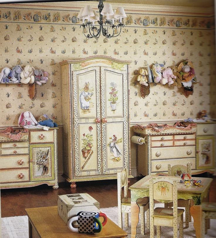 25 best ideas about beatrix potter nursery on pinterest for Beatrix potter bedroom ideas