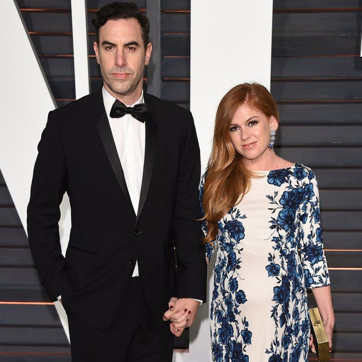 Pin for Later: Isla Fisher and Sacha Baron Cohen Are Parents to a Baby Boy — Find Out His Cute Name!