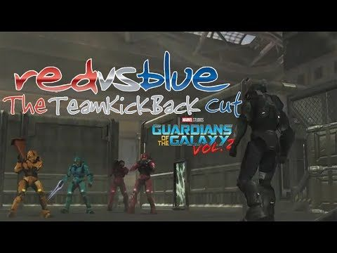 Red Vs. Blue: Tex Fight (Guardians of the Galaxy 2 Intro Style) | The TeamKickBack Cut - YouTube