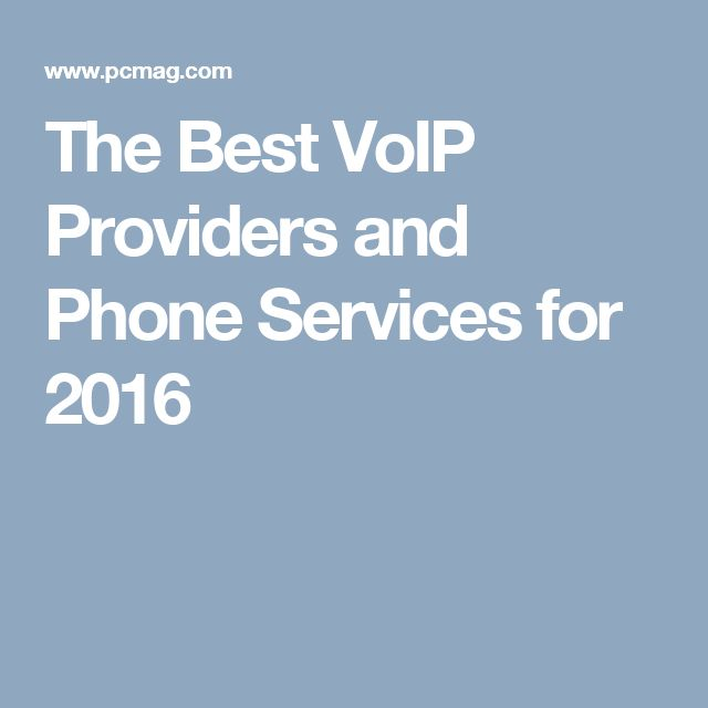 The Best VoIP Providers and Phone Services for 2016