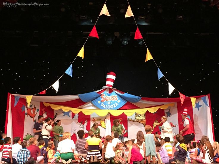 Angel Hill, Carnival Cruise Lines & Dr. Seuss team up - Sailing  Away with Dr. Seuss & Carnival Dream - Dr. Seuss-a-Palooza in New Orleans