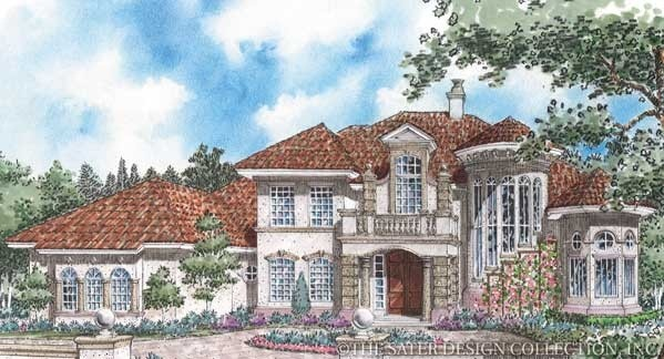 Pin by sater design collection on european house plans for Sater home designs