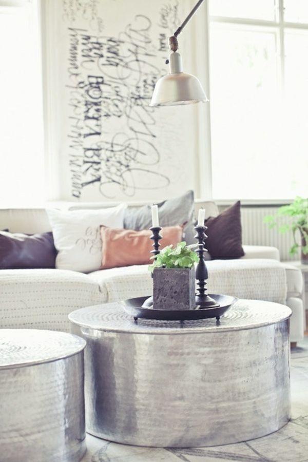 Die besten 25+ Silber beistelltisch Ideen auf Pinterest - joop möbel wohnzimmer