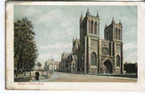 Unknown British Publisher postcard - Bristol Cathedral