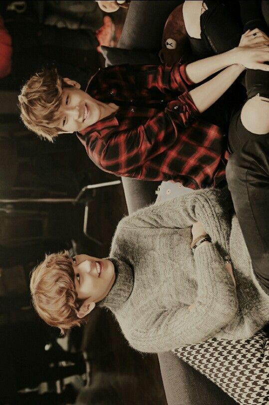 EXO NEXT DOOR - CHANYEOL, BAEKHYUN #exo #next #door