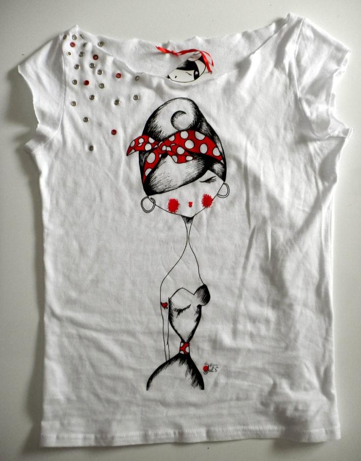 camiseta remaches