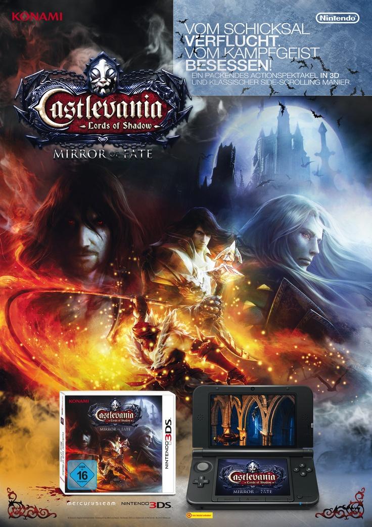 Poster . Castlevania Mirror of Fate . Nintendo 3DS