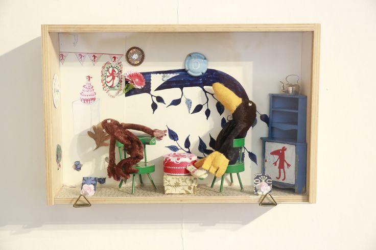 De vrienden van Beestje  #dollshouse  #stuffedtoy #childrensbook #kinderboekenweek