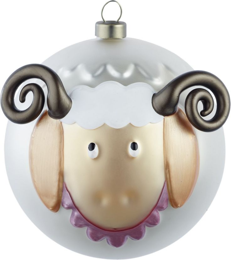 Pecorello Le Palle Presepe Christmas Ornaments Complete Set by A di Alessi | Emmo Home