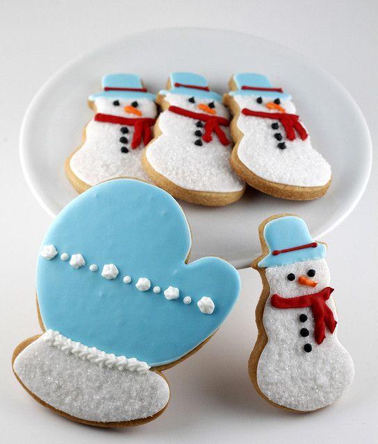 Hand Iced Sugar Cookies by TreatsSF, via Flickr