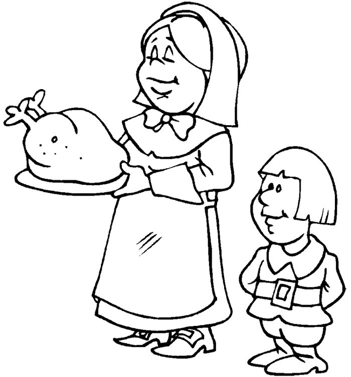 97 best Coloring sheets images on Pinterest Thanksgiving