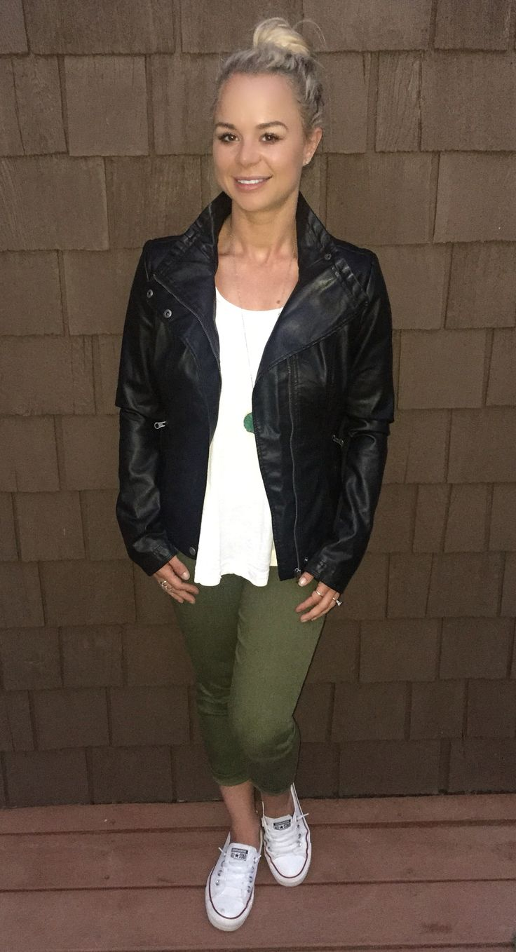 Jeannie!!! i want this jacket!!!  BAD!!!   RD Style faux leather jacket stitch fix fall 2016