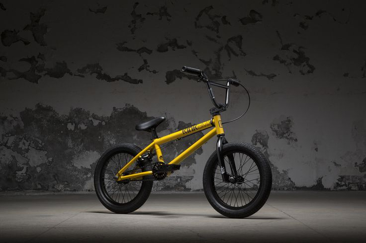 "KINK BMX - Carve 16"" 2018 Gloss Olympic Yellow"