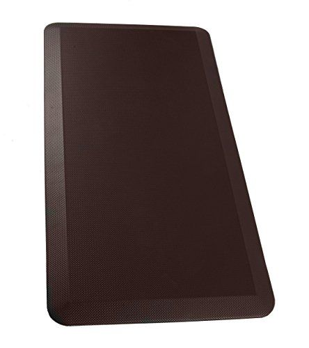 Sky Mat - Anti Fatigue Mat 24in x 70in Dark Brown - Commercial Grade Anti Fatigue Comfort Kitchen Mats perfect for Standup Desks Kitchens and Garages
