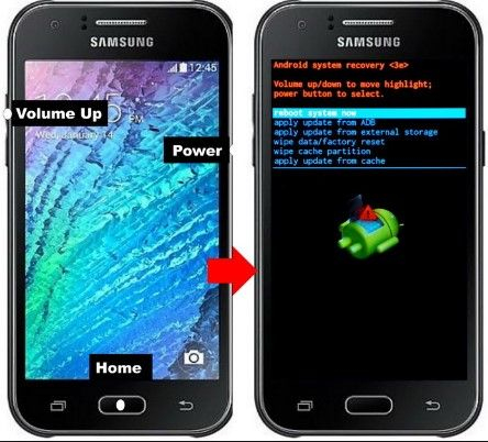 Cara Recovery Mode Samsung Android