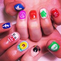 1000+ images about *Geek Nails on Pinterest