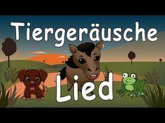 Tiergeräusche für Kleinkinder - Kinderlieder zum Mitsingen - Tierlaute lernen und singen - YouTube