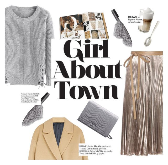 """""""girl about town"""" by punnky ❤ liked on Polyvore featuring Valentino, MSGM, Rizzoli Publishing, Haute Hippie and Juliska"""