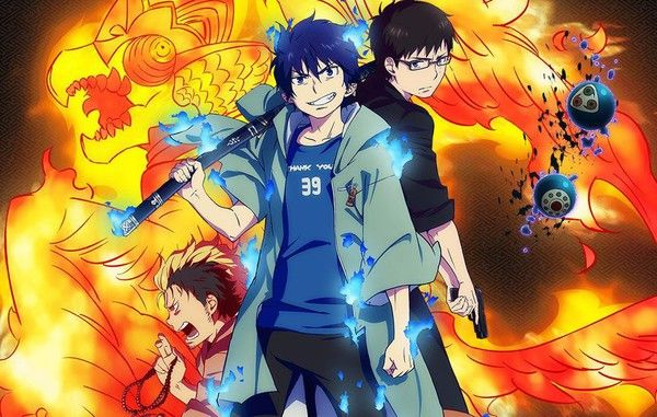 Blue Exorcist: Kyoto Saga     Episodes 1-3    Blue Exorcist: Kyoto Saga is currently streaming on Crunchyroll.    ...