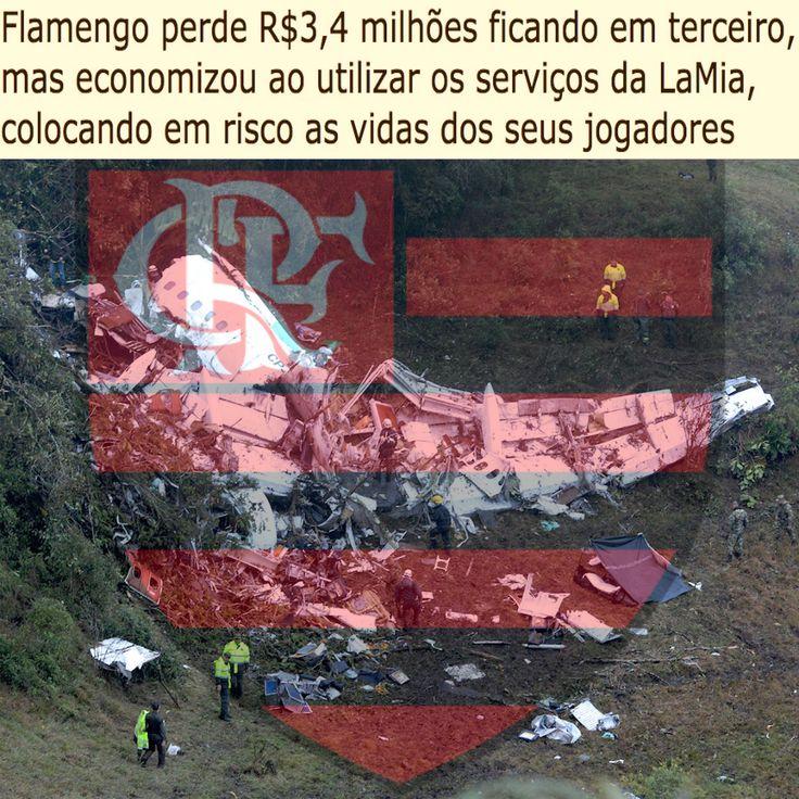 Flamengo perde R$3,4 milhões ficando em terceiro no Brasileirão [Globo Esporte] http://globoesporte.globo.com/futebol/brasileirao-serie-a/noticia/2016/11/cbf-anuncia-premiacao-de-r-60-milhoes-aos-clubes-do-brasileirao-2016.html ②⓪①⑥ ①② ①②
