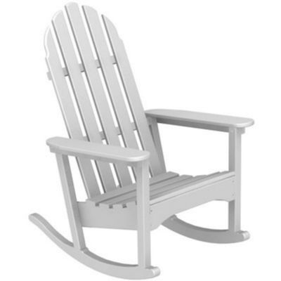 Adirondack glider chair plans woodworking projects plans for Porch rocker plans
