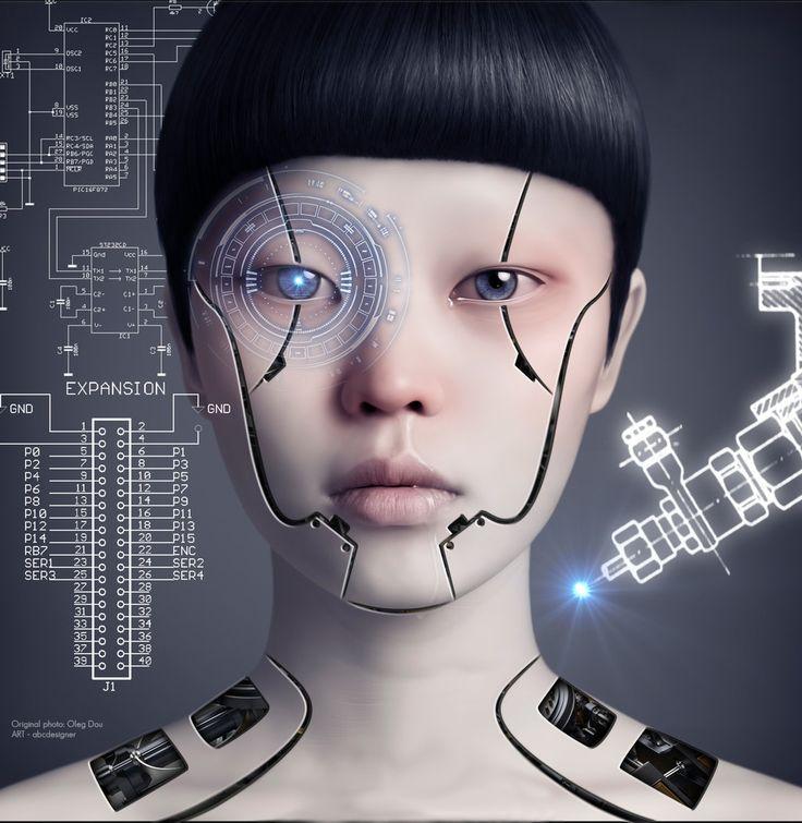 Cyborgs are creeps too.                                                                                                                                                      More