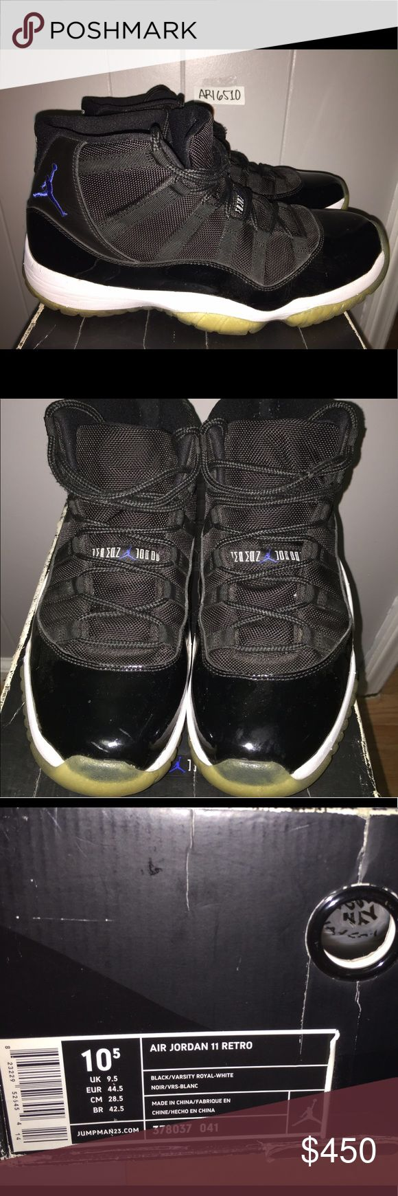 Jordan XI Spacejams SZ 10.5 Jordan XI Space Jams in Sz 10.5. Jordan Shoes Sneakers