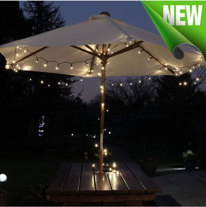 Solar Powered Fairy Lights 100 Warm White Endurance Deluxe In 2020 Solar Fairy Lights Solar Powered Fairy Lights Outdoor Fairy Lights