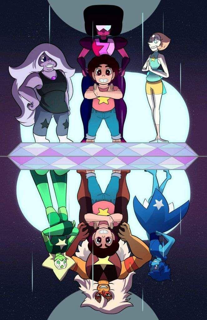 ¿Cual es tu mundo alterno favorito de Steven Universe? | Cartoon Amino  •Español• Amino