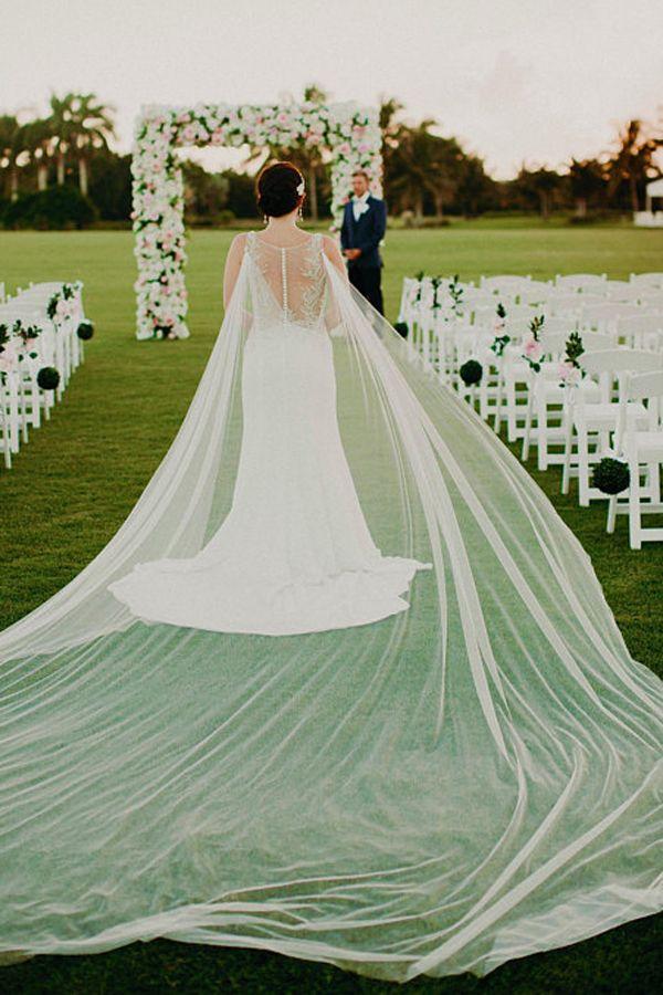 f8ad7cd7ff83d Cape Bridal Veil - Cathedral Length Wedding Veil - Bridal Accessories - Bride  Veil - Lace Veil - Crystal Veil  bride  brides  weddingdresses  weddings    ...