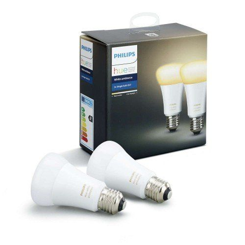 Led Lampa Ego Philips Hue 2pack 2 X E27 10 W Cct