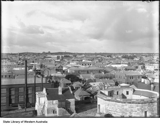 Fremantle Roundhouse View c1905