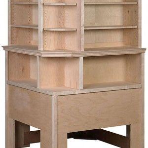 corner headboards roma corner bookcase headboard with hutch - Hausgemachte Kopfteile Mit Regalen