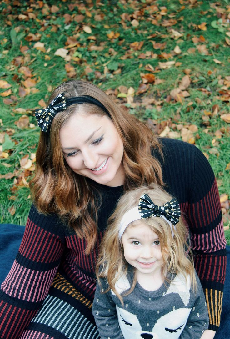 Mother and Daughter matching headbands