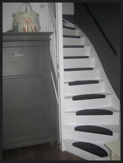 Leuk idee om onze oude houten trap te renoveren Door Susanne1985