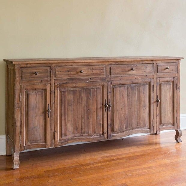 French Country Sideboard All Wood Furniture Home Decor Decor