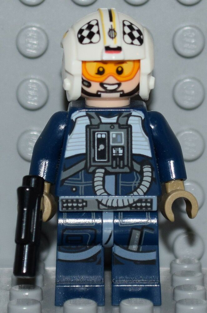 Lego Star Wars Rogue One Minifigure Y Wing Pilot From Set