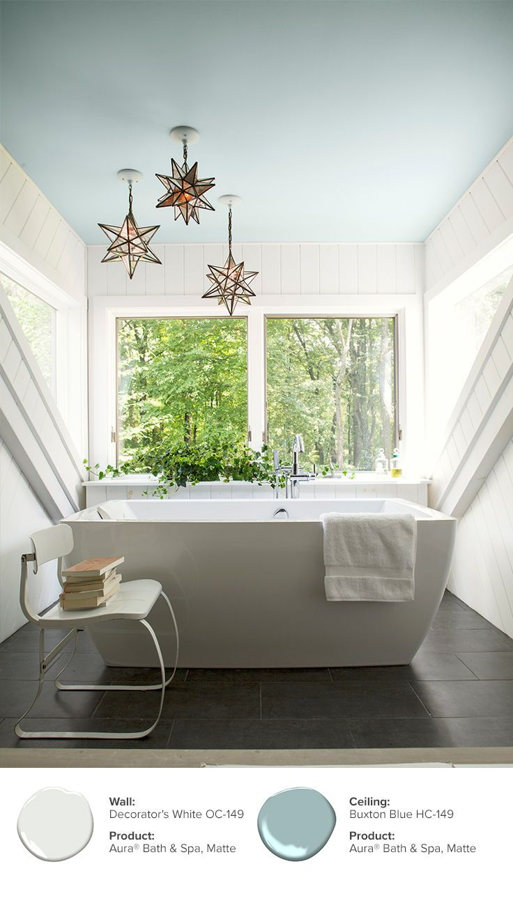 Bathroom Paint Color Ideas Inspiration Benjamin Moore Best Colors Ceiling Relaxing