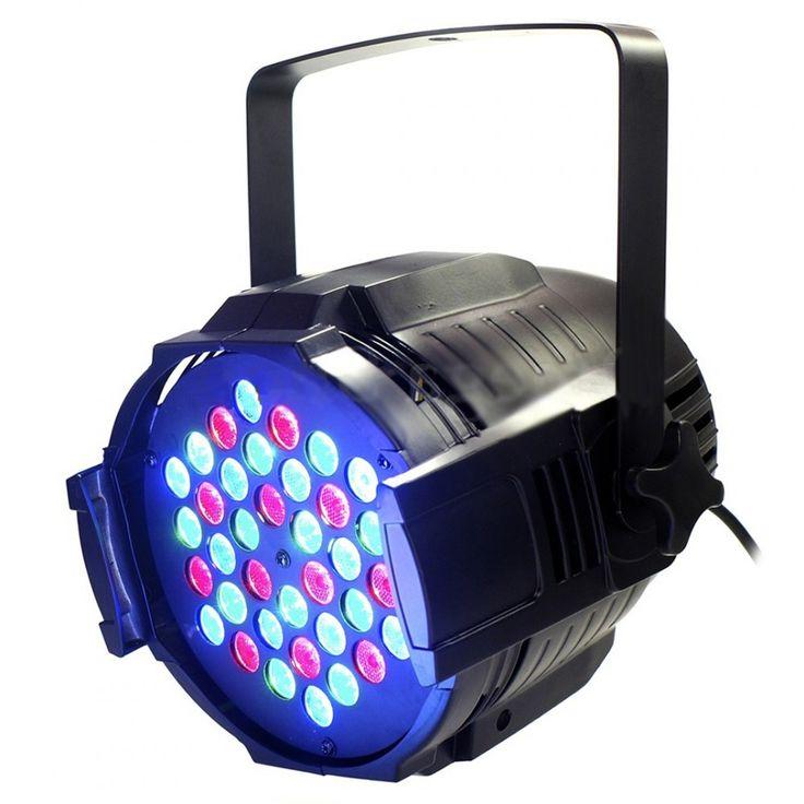 Canhão de iluminação Par 64 com 36 LED's - RGB 3w