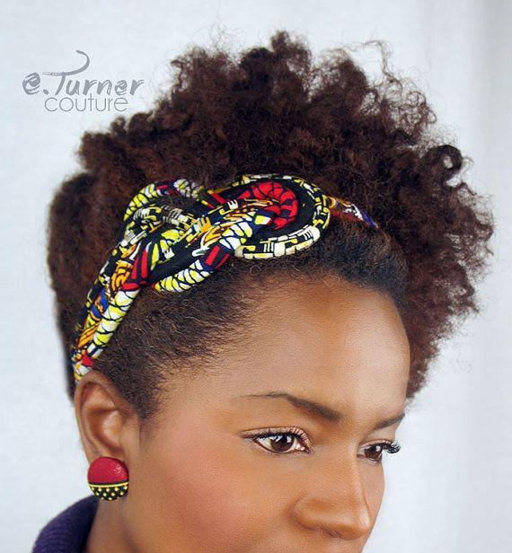 African Headband Ankara Headband African Wax Print